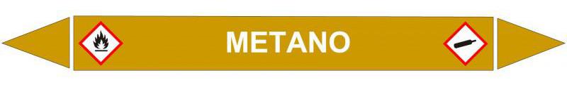 Etichette autoadesive per tubazioni, Dima Asti