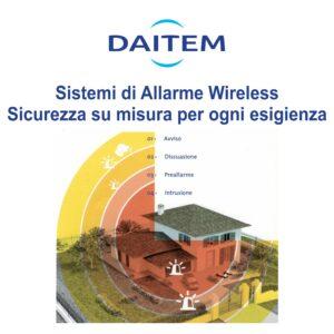 Antifurto DAITEM wireless